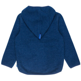 Finkid Jussi Wool Fleece Pullover Kids Denim Melange